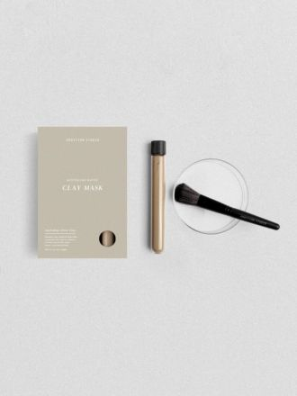 Olive Clay Mask Set by Addition Studio