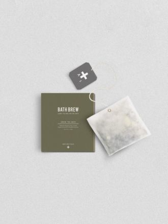 Green Tea Bath Bew by Addition Studio