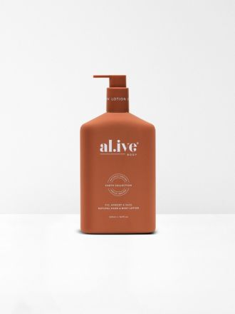 Fig, Apricot & Sage Hand & Body Lotion by Al.ive