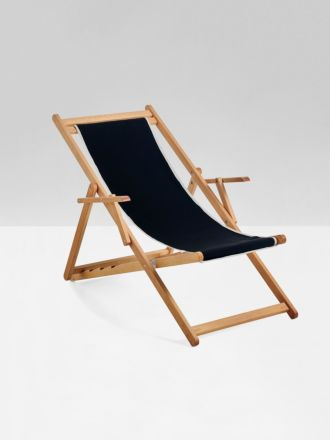 Black Beppi Sling Chair by Basil Bangs - Pick up only