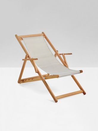 Raw Beppi Sling Chair by Basil Bangs