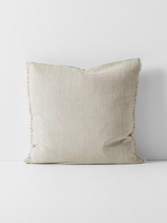 Chambray Linen Cushion - Natural