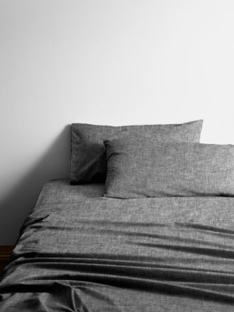 Chambray Sheet Set - Smoke