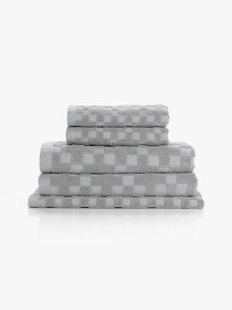 Check Bath Towel Set
