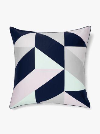 Cinq European Pillowcase - Blueprint