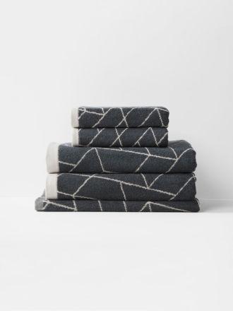 Cos Bath Towel Set - Greystone