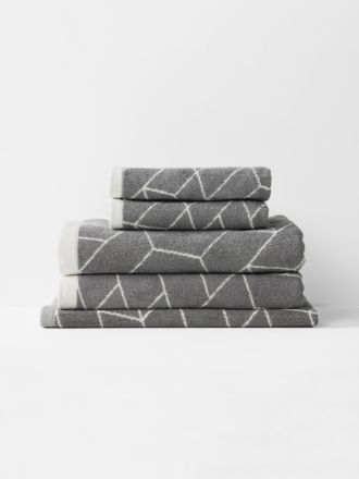 Cos Bath Towel Set - Smoke