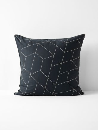Cos European Pillowcase - Greystone