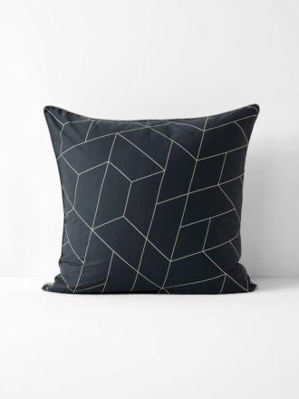 Cos European Pillowcase - Greystone