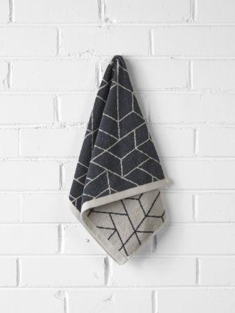 Cos Hand Towel - Greystone