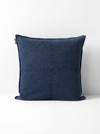 Vintage Denim Cushion - Indigo