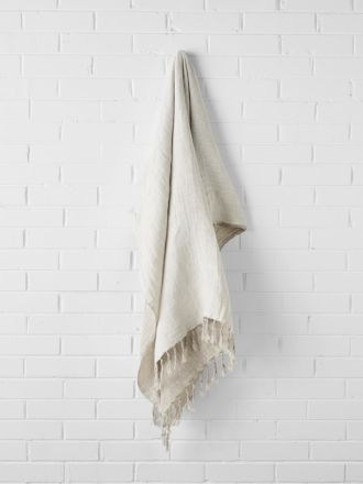 Double Layer Throw - Marshmallow