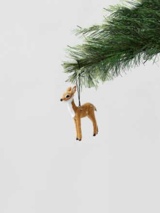 Doe Hanging Decoration - Natural