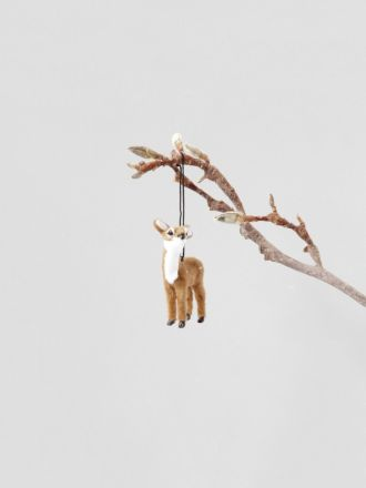 Fawn Hanging Decoration - Natural
