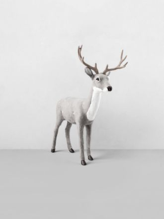 Reindeer Table Decoration - Grey