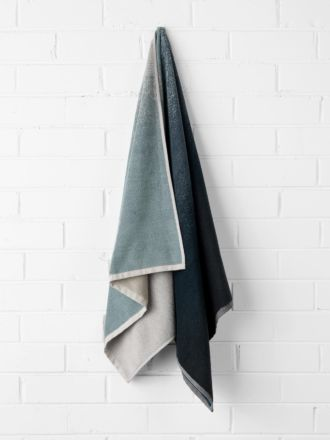 Eclipse Bath Towel - Indigo