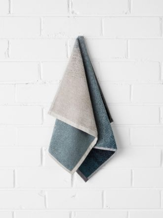 Eclipse Hand Towel - Indigo