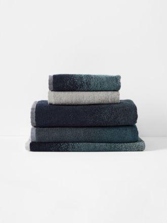 Eclipse Bath Towel Set - Indigo
