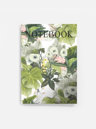 Botanical Jungle Notebook by Father Rabbit