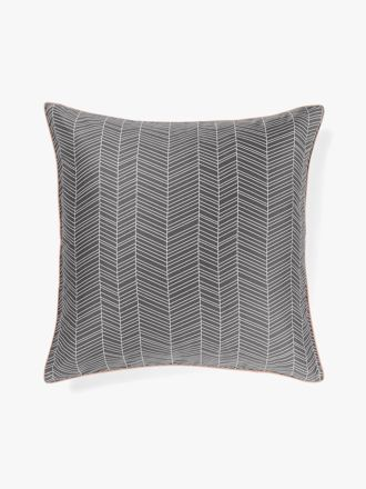 Feather European Pillowcase - Flint