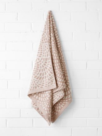 Finca Bath Towel - Blush