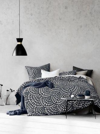 Finca Quilt Cover Set - Greystone
