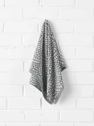 Finca Hand Towel - Smoke