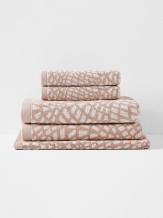 Finca Bath Towel Set - Blush