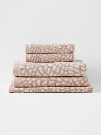 Finca Bath Towel Set - Blush