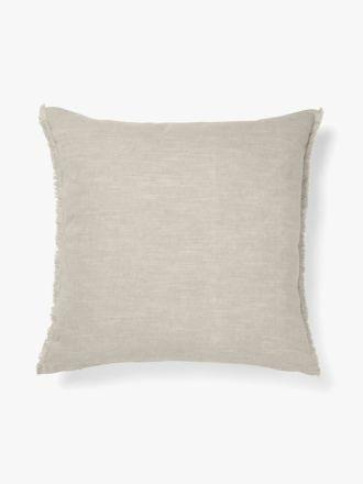 Fringe Cushion - Mink