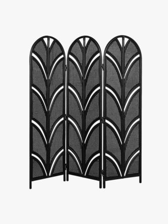 Avery Palm Screen in Black - Late March Delivery