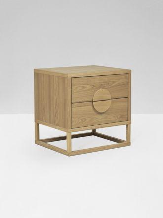 Benjamin Bedside Table- Natural Ash