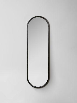 Brody Oval Mirror - Black