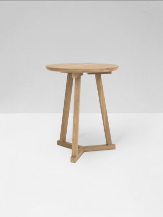 Tripod Side Table - Oak