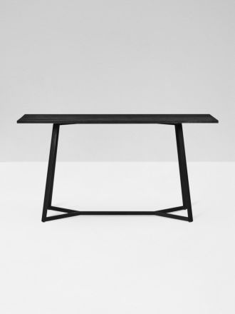 Geo Console Table in Black