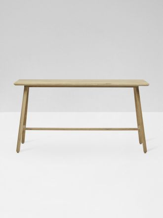 Linea Console Table in Oak