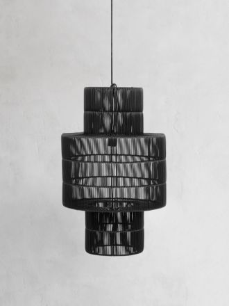 Marina Crown Pendant Licorice  by Globe West
