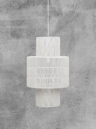 Marina Pendant Shade Chalk by Globe West