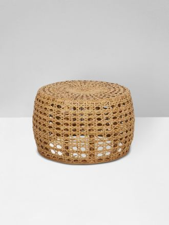 Tully Woven Small Coffee Table in Natural