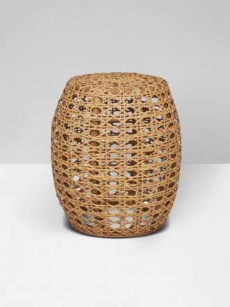 Tully Woven Side Table in Natural