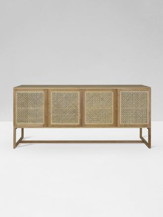 Willow Woven Buffet in Natural