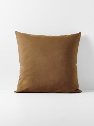 Halo Organic Cotton European Pillowcase - Tobacco