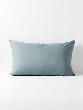 Halo Organic Cotton Standard Pillowcase - Eucalypt
