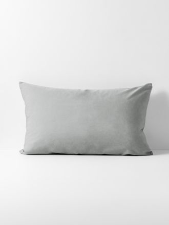 Halo Organic Cotton Standard Pillowcase - Pebble
