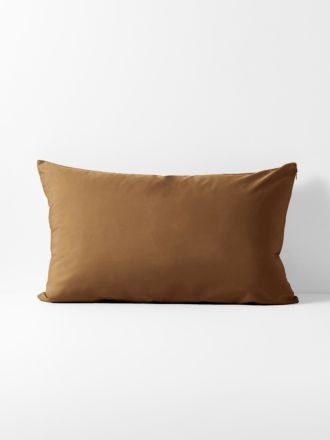 Halo Organic Cotton Standard Pillowcase - Tobacco