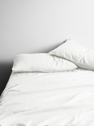Halo Organic Cotton Sheet Set - White