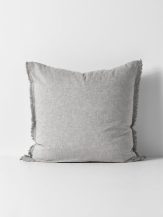 Herringbone European Pillowcase - Dove