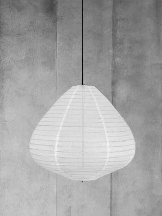 Fabric Lantern Natural Large  by HK Living