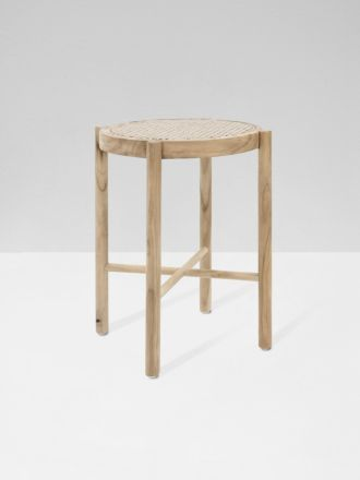 Webbing Stool Natural by HK Living