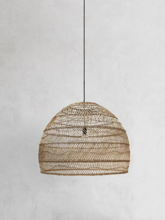 Wicker Pendant Natural Large by HK Living
